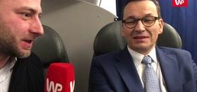 Morawiecki po Davos dla WP: Polska jest postrzegana jako oaza spokoju gospodarczego