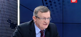 Tadeusz Cymański składa życzenia PO. Zaskoczył