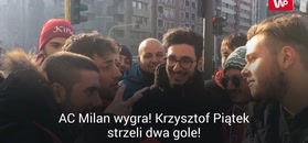 """Pytamy kibiców AC Milan o Krzysztofa Piątka. """"Duża przyszłość przed nim. Świetny napastnik"""""""