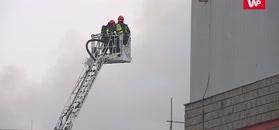 Gigantyczny pożar hali. Pracę może stracić kilkaset osób