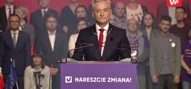 Robert Biedroń: musimy zrealizować testament Pawła Adamowicza