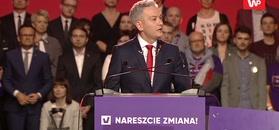Robert Biedroń:dostaliśmu pokrakę demokracji z Rydzykiem na stronie