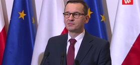 Premier Mateusz Morawiecki żegna Jana Olszewskiego