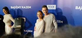 Walentynki Zdrójkowskiego i Gąsiewskiej na ściance TVP