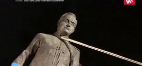 To on wybudował pomnik ks. Jankowskiego. Zabrał głos w sprawie obalenia