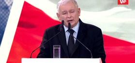 """Kaczyński odpowiada Holland na konwencji PiS. """"Jeśli przeciwnicy wygrają, będzie gorzej niż było"""""""