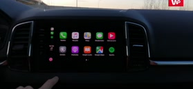 Skoda Karoq: Apple CarPlay