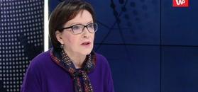 Ewa Kopacz o incydencie z SOP. Aż wybuchła śmiechem