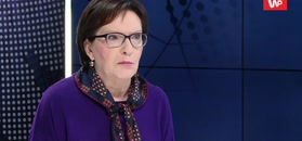 Ewa Kopacz w emocjach o Tusku. Zaatakowała Dudę