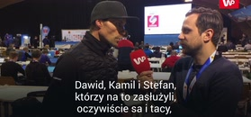 Sven Hannawald o konkursie na normalnej skoczni.