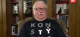 Lech Wałęsa tłumaczy wpis o Kaczyńskim