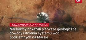 Podziemna woda na Marsie