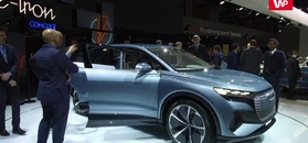 Stoisko Audi zdominowały elektryki. Pojawiła się zapowiedź nowego SUV-a