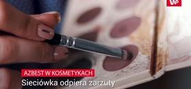 FDA: azbest w kosmetykach Claire's