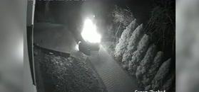Podpalił samochód. Sam też zajął się ogniem