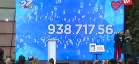 Niesamowity rekord WOŚP. Owsiak zaprezentował rekordowy wynik zbiórki 27. finału