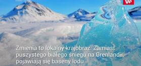 Deszcz na Grenlandii niszczy pokrywę lodową
