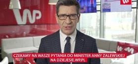 Minister Anna Zalewska gościem programu