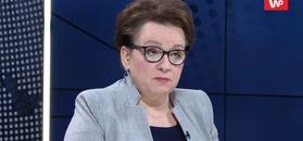 Anna Zalewska przeprasza za słowa Marka Suskiego o nauczycielach