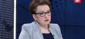 Anna Zalewska o swoim starcie do PE.