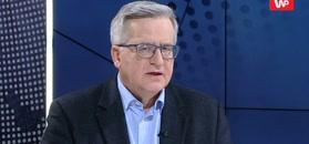 Bronisław Komorowski o brexicie. Broni Tuska