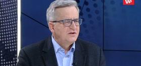 Przełomowy sondaż. Bronisław Komorowski komentuje