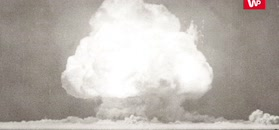 Detonacja pierwszej atomówki. Unikatowe nagranie
