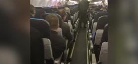 Awaryjne lądowanie boeinga. Relacja pasażera
