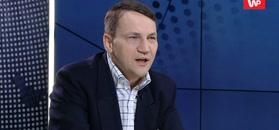 Radosław Sikorski ostro o Zalewskiej i Brudzińskim