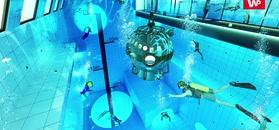 Najgłębszy basen na świecie powstaje w Polsce. Byliśmy na budowie