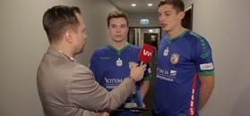 Tomasz Smokowski przerwał wywiad z piłkarzem Miedzi.