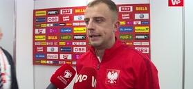 Kamil Grosicki po meczu z Austrią.