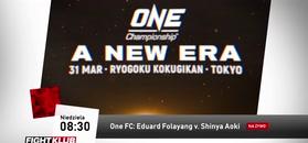 One FC: A New Era - wielka gala MMA na żywo wyłącznie w Fightklubie!