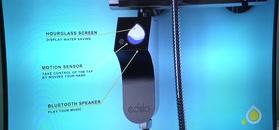 Urządzenie prysznicowe sterowane za pomocą gestów oraz poleceń głosowych
