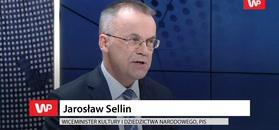 Jarosław Sellin szydzi z Tuska. Oskarża Dulkiewicz