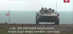 Rosyjskie ćwiczenia na Krymie