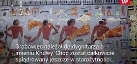 Starożytny grobowiec. Nowe odkrycie w Egipcie