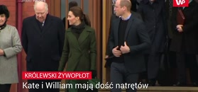 Kate i William mają dość natrętów
