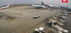 Katastrofa samolotu w Nepalu. Nowe nagranie z monitoringu