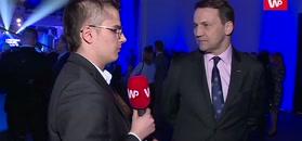 Radosław Sikorski: Wiem, jak koledzy z PiS-u myślą. Mogą nas wyprowadzić z UE