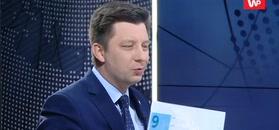 """Michał Dworczyk zaskoczył. """"Ja też jestem uzbrojony w grafikę"""""""