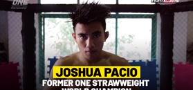 Joshua Pacio - poznaj jedną z gwiazd federacji One FC!