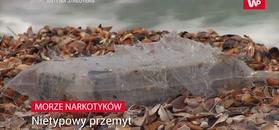 Morze wyrzuciło je na brzeg. Policja ostrzegała, że są niebezpiecze dla zdrowia