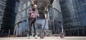 Męski Atest: miejska hulajnoga elektryczna