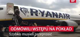 Nie wpuścili uchodźcy na pokład. Skandal w Ryanair