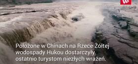 Niesamowite wodospady Hukou