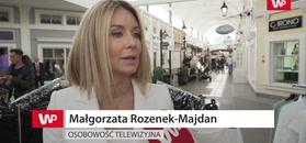 Małgorzata Rozenek rozczula się nad projektami Joanny Przetakiewicz:
