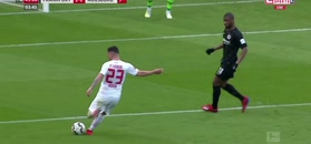 Bundesliga: Brutalny faul Fernandesa. Fenomenalny mecz Richtera. Augsburg pokonał Eintracht