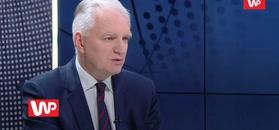 Matura 2019. Wicepremier Jarosław Gowin składa deklarację