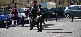 Niepozorna Klaudia Marchewka przemyka niezauważona przez paparazzi
